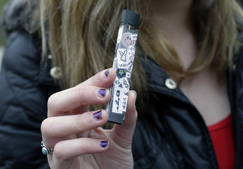 E-cigarettes like the Juul have caught on with teens in a big way, and schools have been struggling to keep up. We'll talk about vaping's new popularity, and the health issues involved.