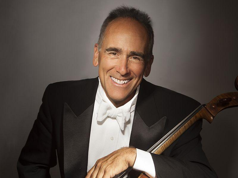 Carter Brey plays Dvorak's Cello Concerto with his colleagues of the N.Y. Philharmonic this week.