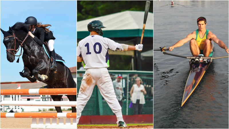 """Vermont Edition"" looks at equestrian competitions, minor league and college baseball, sculling and more in a summer sports roundup."