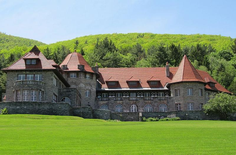The former Everett Mansion on the campus of the Southern Vermont College is one of the state's architectural gems.