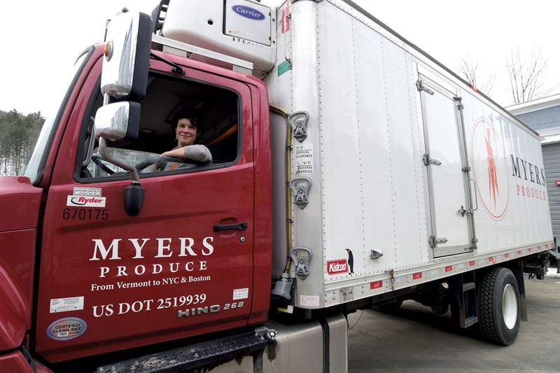 Since 2013, Myers Produce has been supplying restaurants in New York City and Boston with fresh fruit and veggies from Vermont.