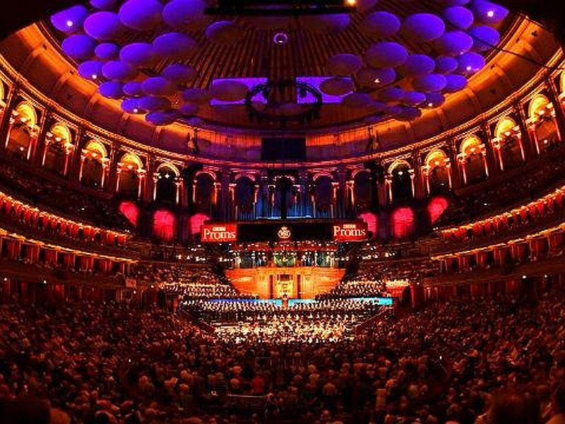 First Night of the BBC Proms at the Royal Albert Hall in London.