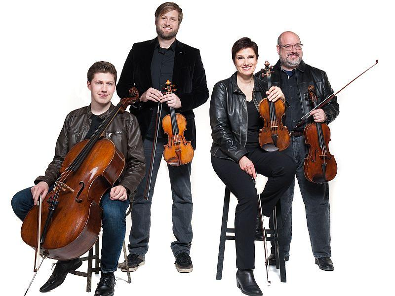The Indianapolis Quartet performs Debussy Thursday in Stetson Studio One.