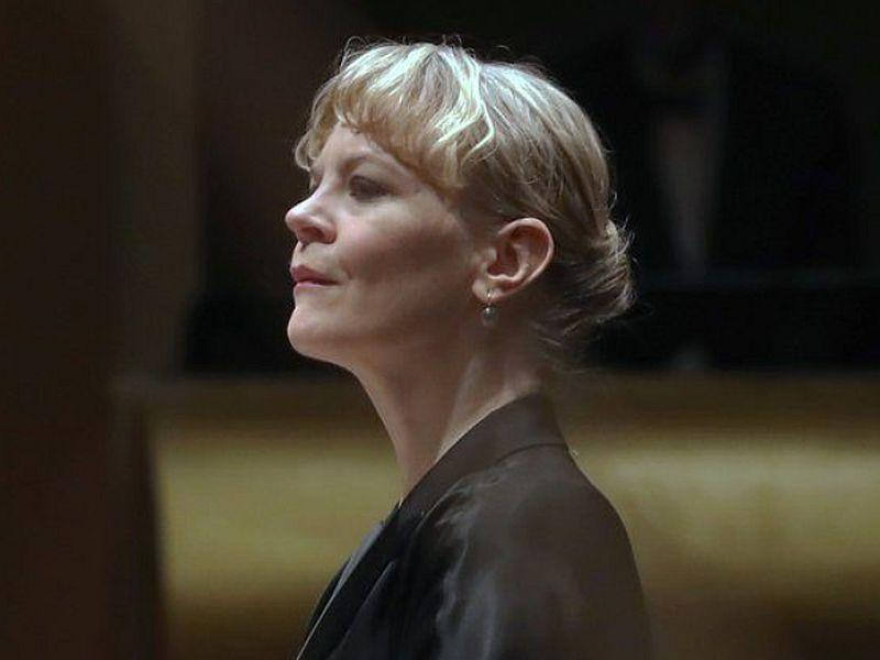 Finnish conductor Susanna Malkki leads the CSO this week.
