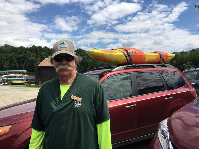 Walter Carpenter has served as a park attendant at the Waterbury Reservoir since 2008. During that time, he's developed new strategies for managing the 40,000 or so people who visit the day-use state park every summer.
