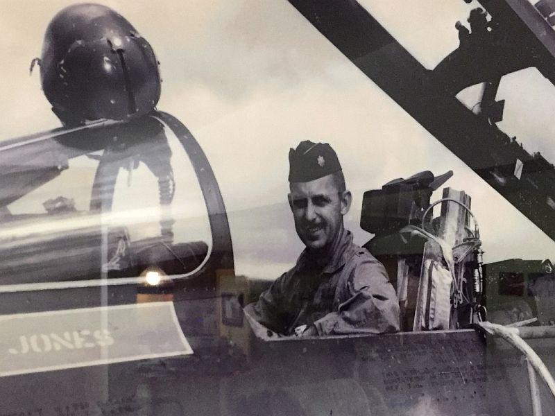 Don Jones flew missions into North Vietnam in Misty F-100s during the Vietnam War.