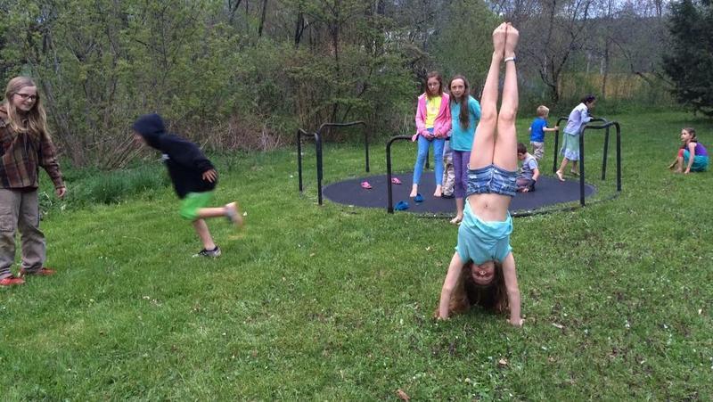 The kids of Randolph, Vermont.