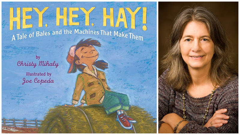Christy Mihaly's first illustrated book for children is a rhyming picture book about making hay.