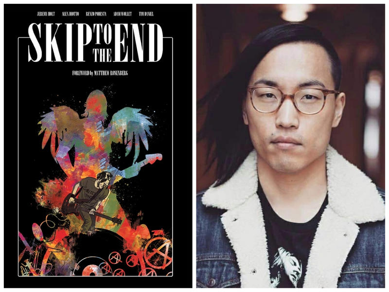 """Skip To The End"" is the latest graphic novel written by Middlebury author Jeremy Holt."