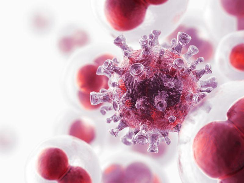 Our bodies are made up of cells. Cancer happens when cells divide out of control.