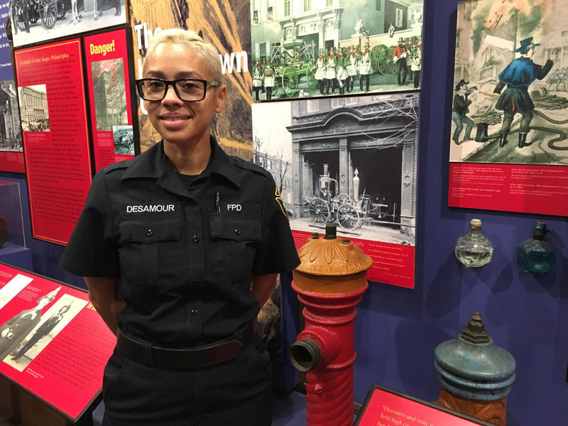 Philadelphia firefighter Lisa Desamour says a healthy curiosity about fire is a good thing, and kids should feel comfortable asking questions. But they also need to know basic fire safety.