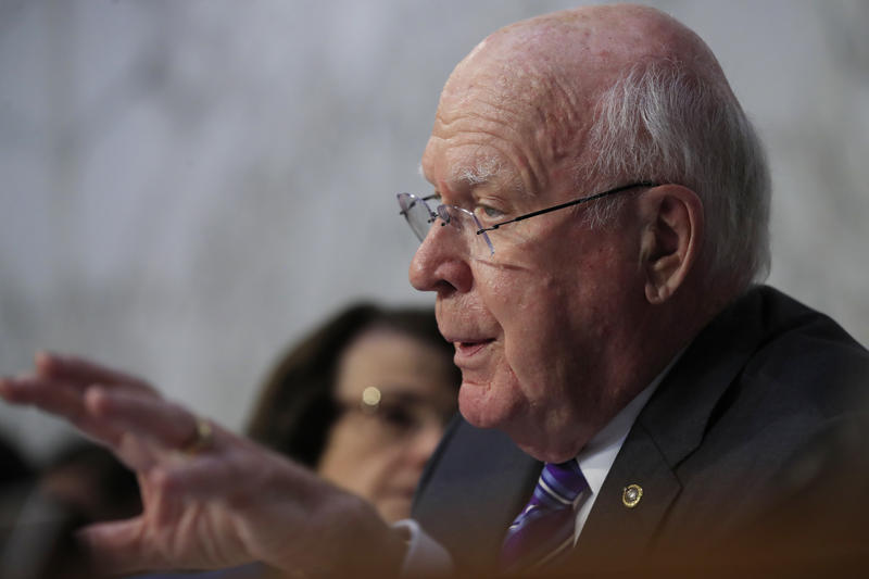 Sen. Patrick Leahy says GOP leaders are blocking the release of key information concerning allegations of sexual assault brought against Supreme Court nominee Brett Kavanaugh