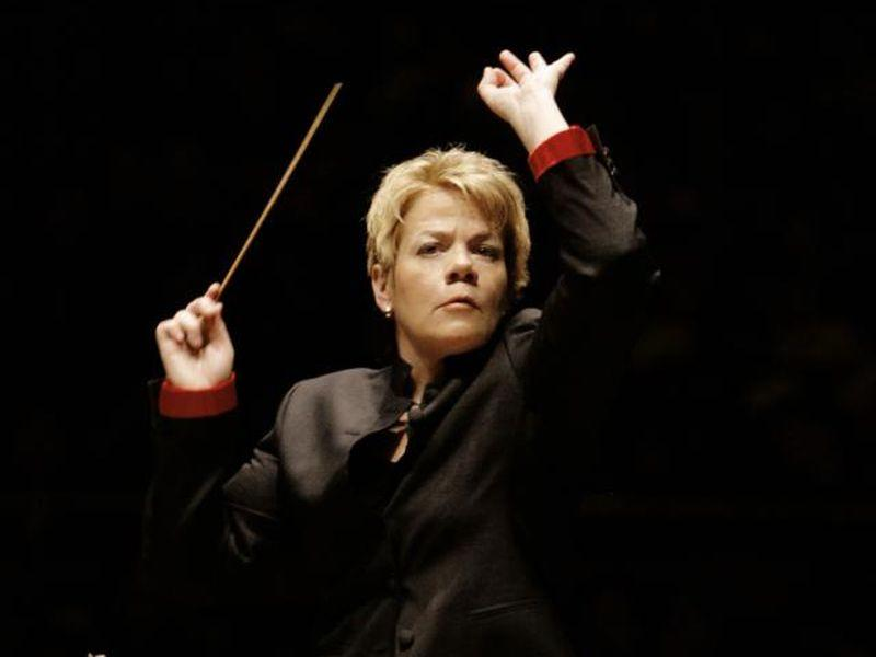 Marin Alsop conducts the Baltimore Symphony at the BBC Proms.