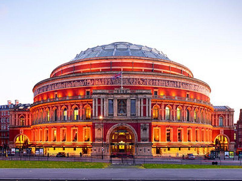 London's Royal Albert Hall is home to many concerts of the BBC Proms.