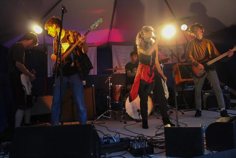 The Starving Musicians' Fund performs at BrattRock in Brattleboro.