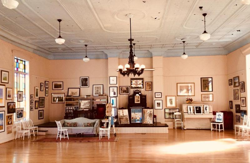 """The Montgomery Center for the Arts installation of """"For The Love of Art - 30 Years of Collecting"""" includes more than 100 works from the Collection of Nancy Patch."""