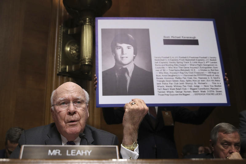 Sen. Patrick Leahy questioned Judge Brett Kavanaugh as the Senate Judiciary Committee considered his nomination.