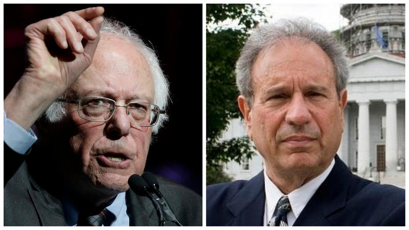 Incumbent independent Senator Bernie Sanders faces Republican challenger Lawrence Zupan in November's election.