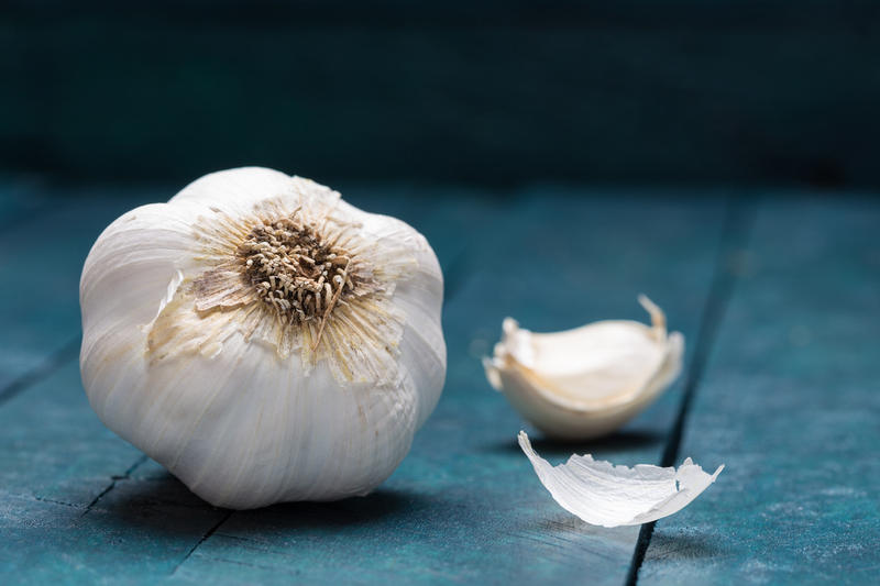 Garlic should be planted four-to-six weeks before a hard freeze, so now is the time to plant.
