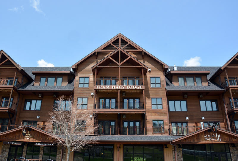 The Tram Haus Lodge at Jay Peak was one project invested in by foreign investors through the EB-5 program. The state-run Regional Center that oversaw EB-5 projects in Vermont was terminated by the federal government.
