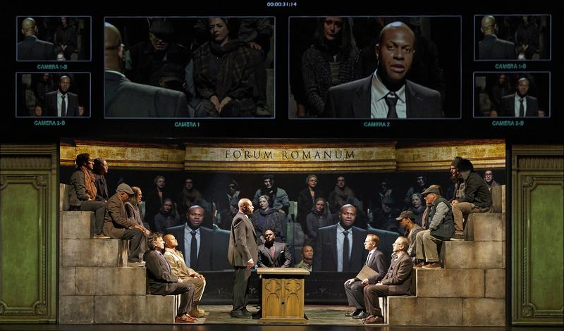 "Shakespeare's tragedy ""Coriolanus,"" originally set in ancient Rome, is brought into modern times at Dartmouth's Hopkins Center for the Arts. The play's modern-day staging is through a partnership with the Stratford Festival."