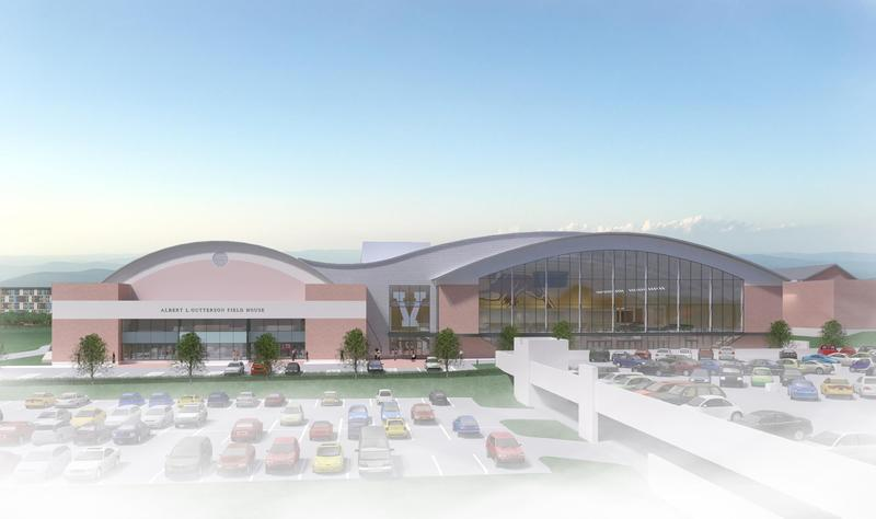 A rendering of the greenlighted multi-purpose center at the Unversity of Vermont.