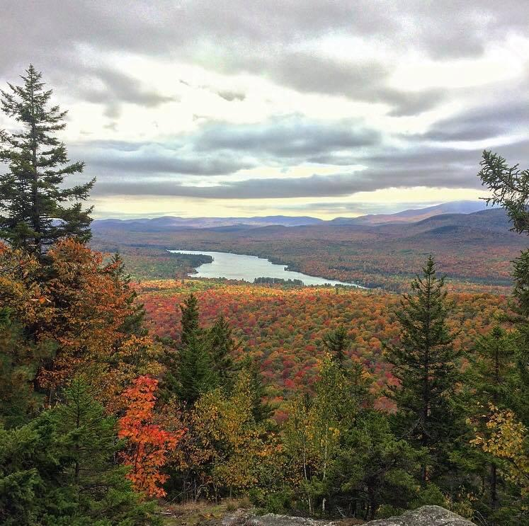Kevin Dwyer shared this view from Groton State Forest near Plainfield on Saturday, Oct. 6.