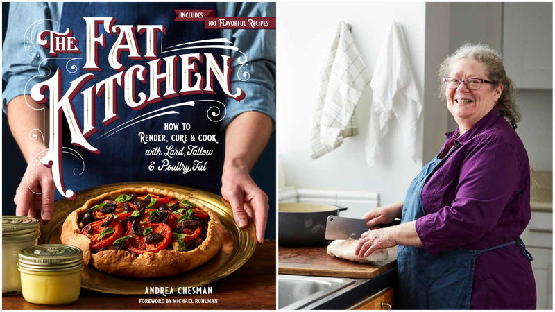 "Andrea Chesman is author of the new cookbook ""The Fat Kitchen."""