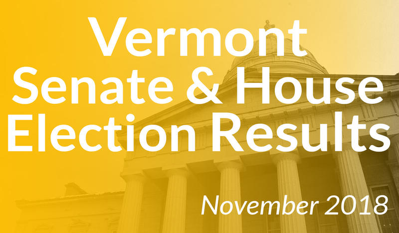 Vermont Senate & House Election Results