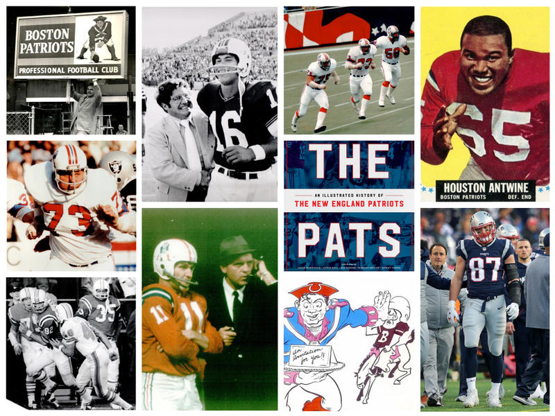 Photos, programs, magazine covers and more bring to life the story of The Patriots in the new book