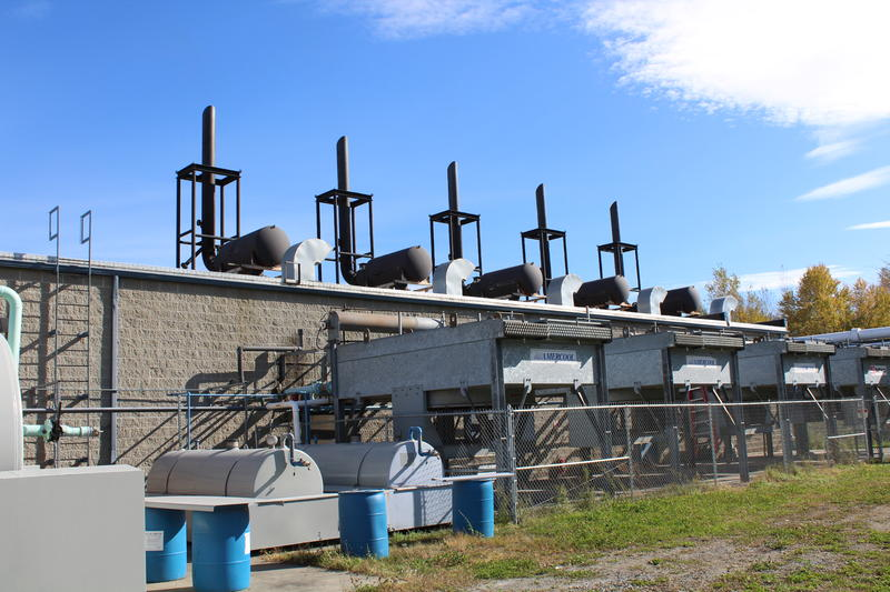 These generators produce electricity by burning landfill gas in Coventry. The Washington Electric Co-op has sold credits for that energy to other utilities, but the price for the credits has dropped sharply.
