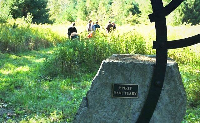 """The Spirit Sanctuary in Essex, New York hopes to preserve a wildlife corridor by turning it into a """"green"""" burial ground."""