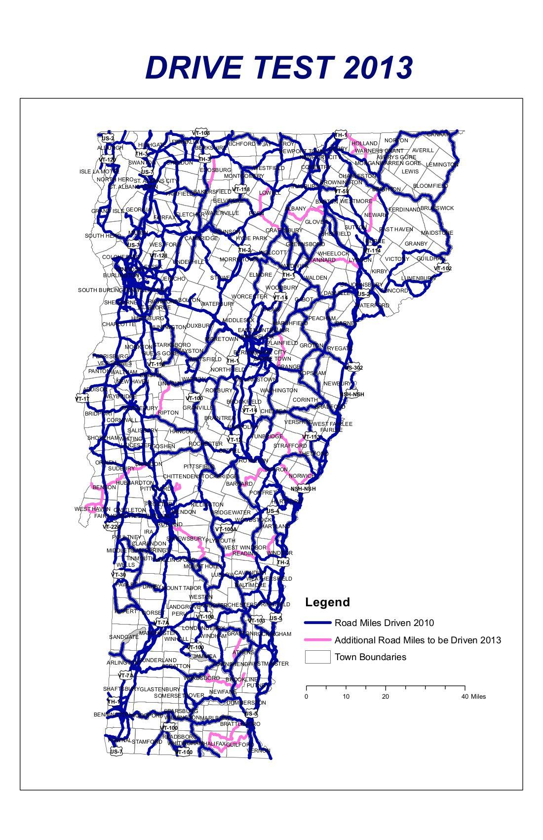 Mapping Project Charts Cell Phone Coverage In Vermont Vermont - Cell phone carrier coverage map