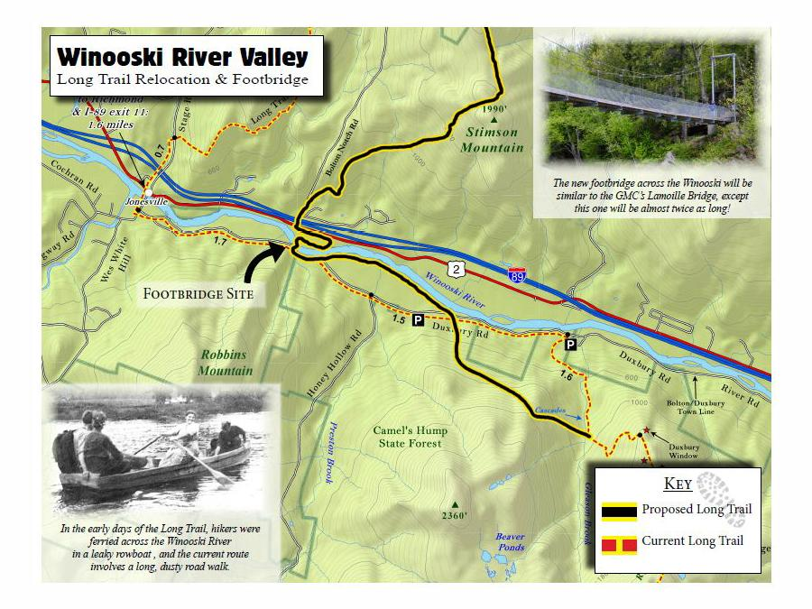 New Bridge New Route For Long Trail In Bolton Vermont Public Radio