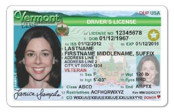New Non Mandatory Vt Driver S License Will Be Available