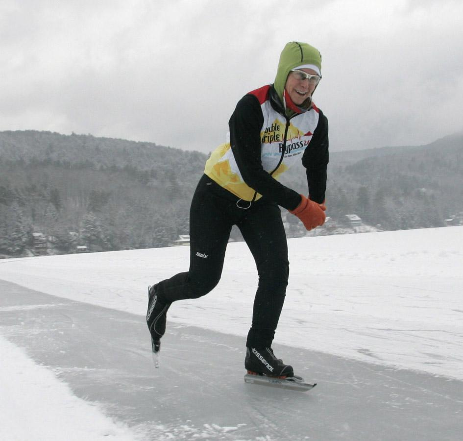 skating far and fast on lake morey vermont public radio