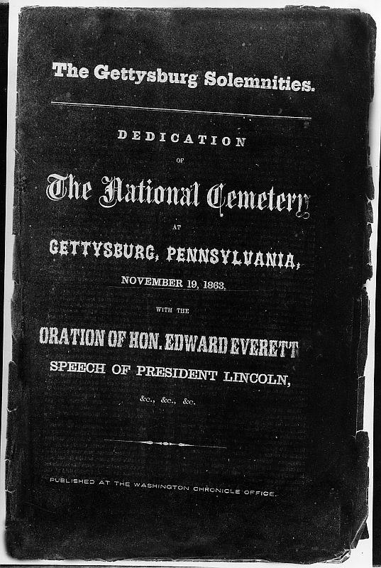 meaning behind the gettysburg address essay To understand the significance of the gettysburg address, we need to go   1976 essay, a reading of lincoln's 'gettysburg address' (without a doubt, the  best.