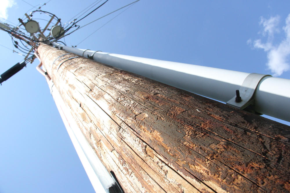 Utility Pole Wood Treatment