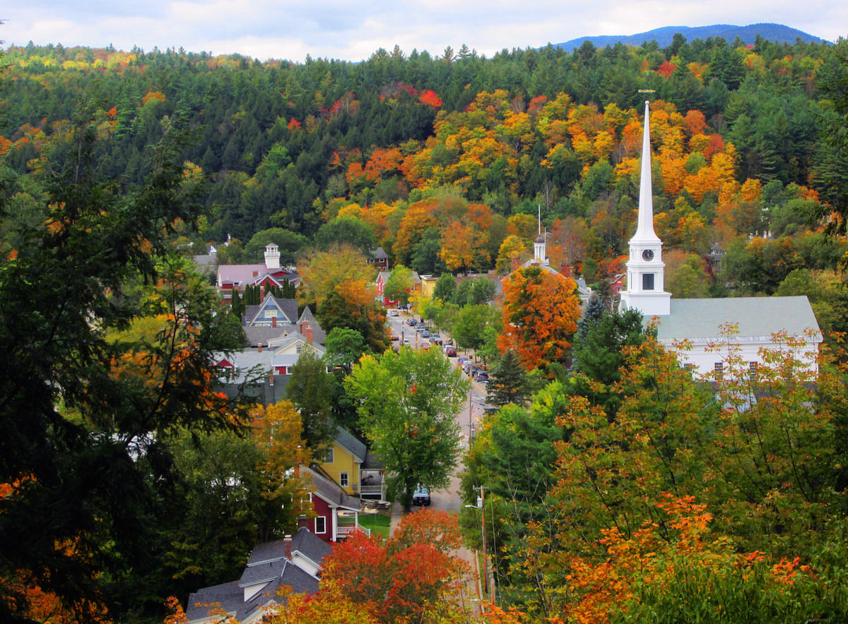Look out burlington google has named stowe vermont 39 s Best villages in america