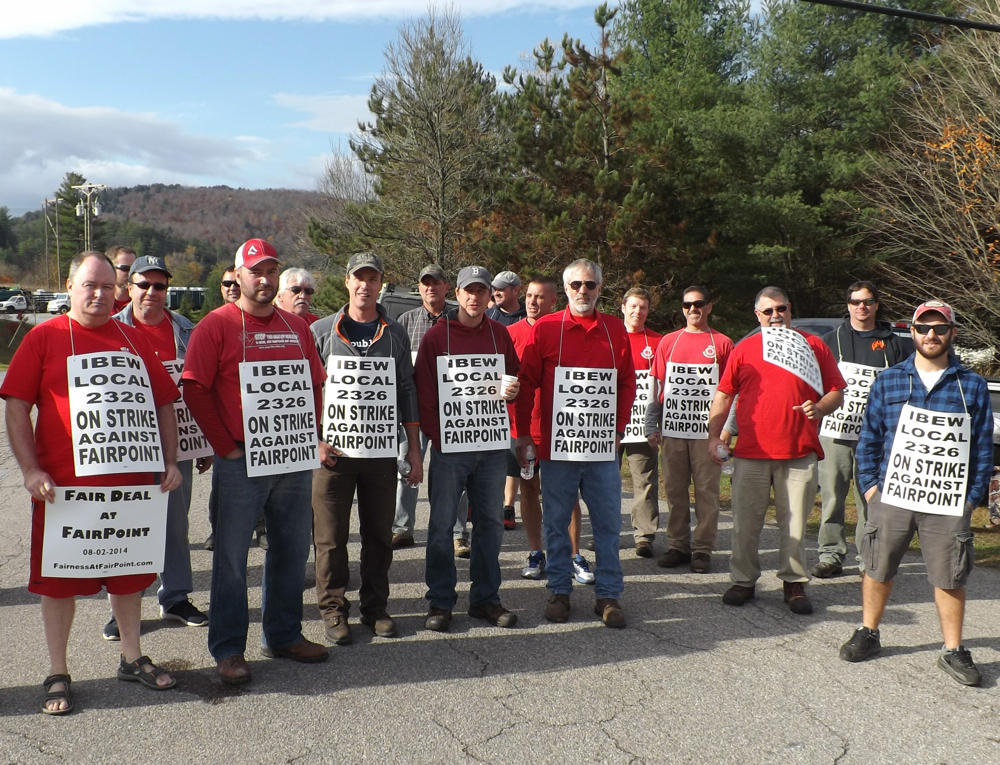 Fairpoint Workers Strike As Company Reduces Benefits