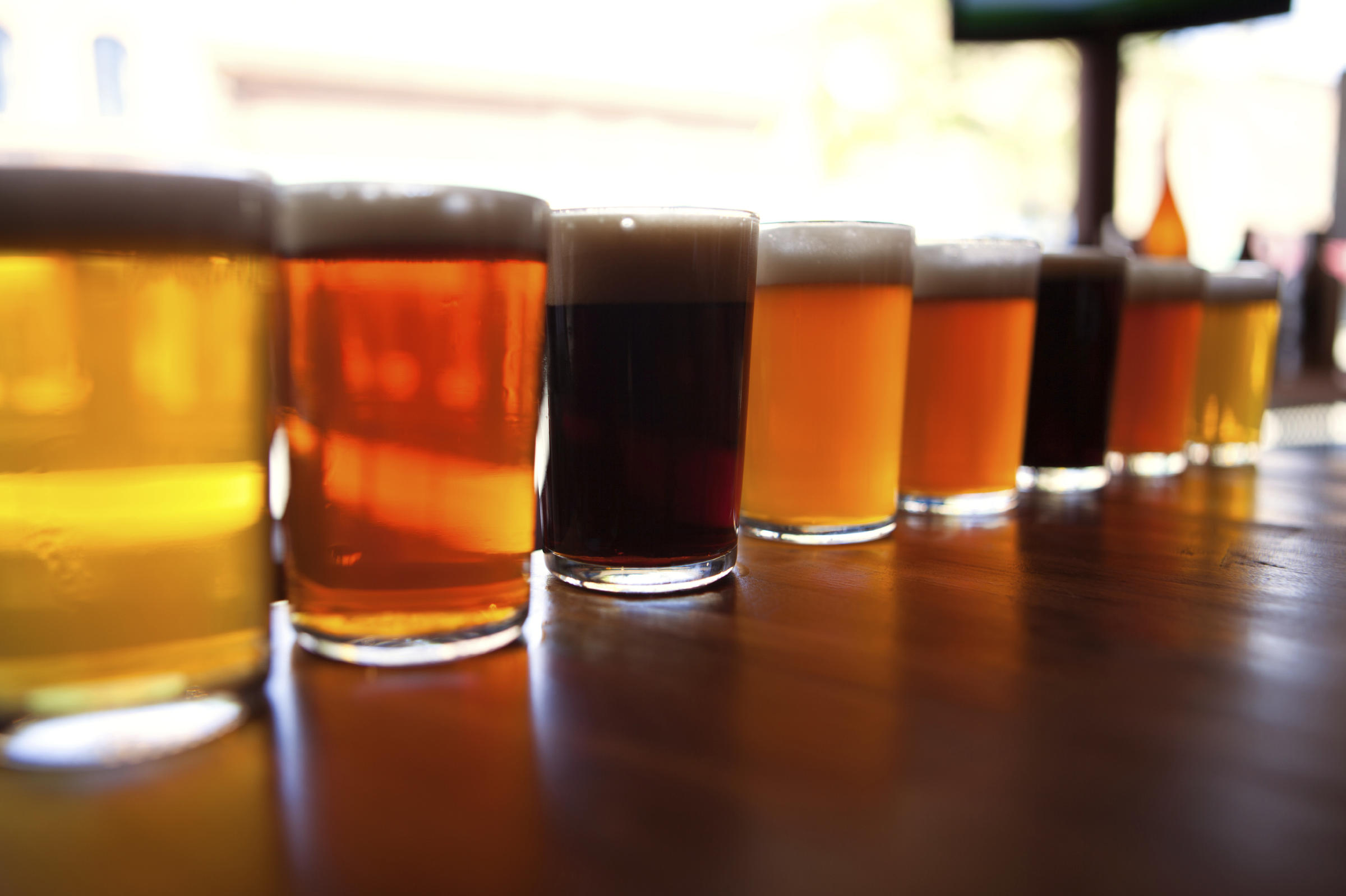 Homebrewers compete to become the next big thing in for Home brew craft beer