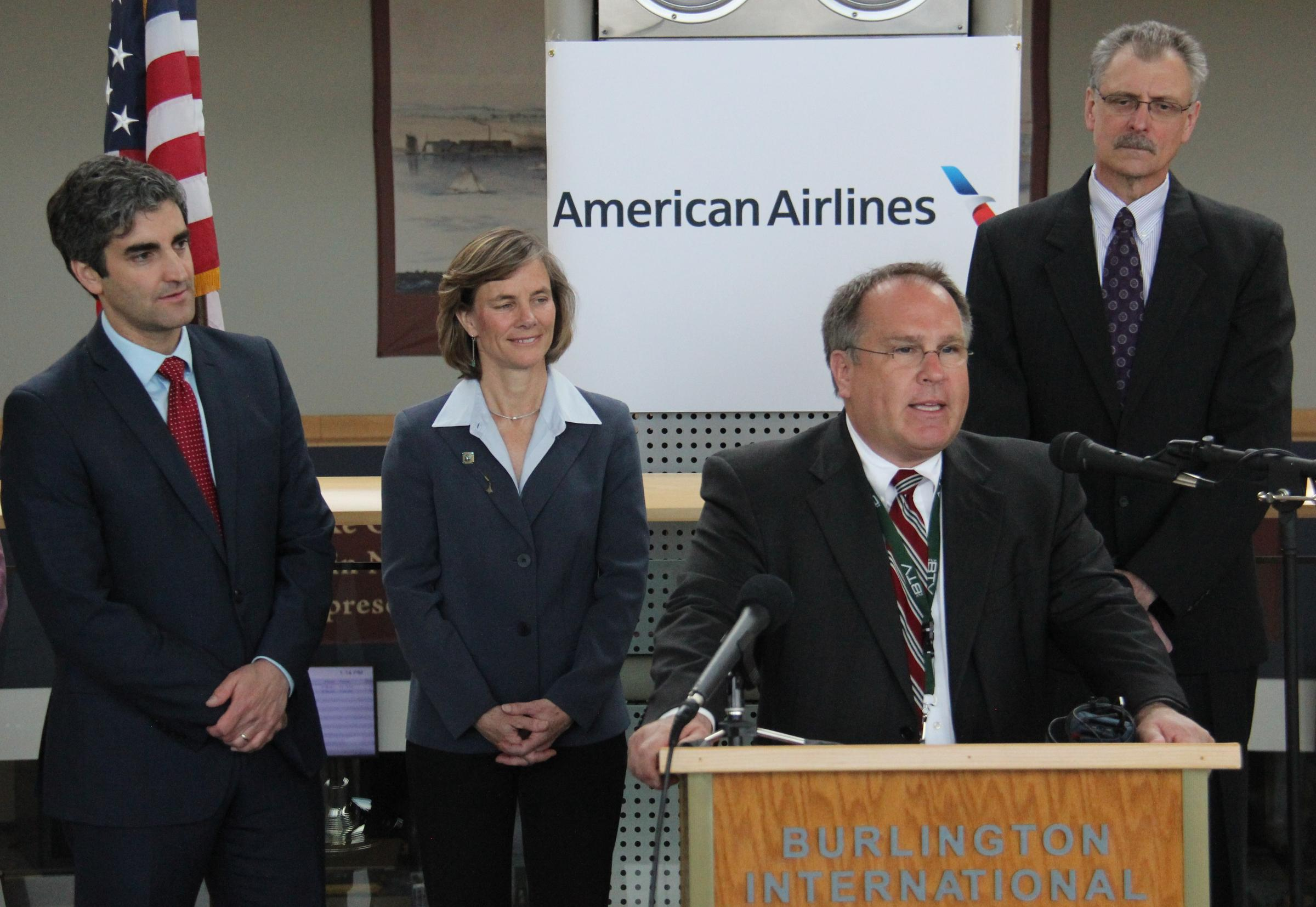 American Airlines To Run Non Stop Flights Burlington To