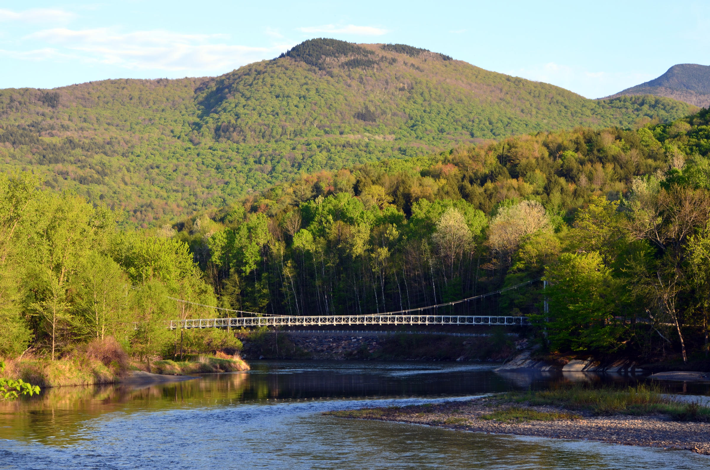 After Years Green Mountain Club To Open Winooski River - A long river