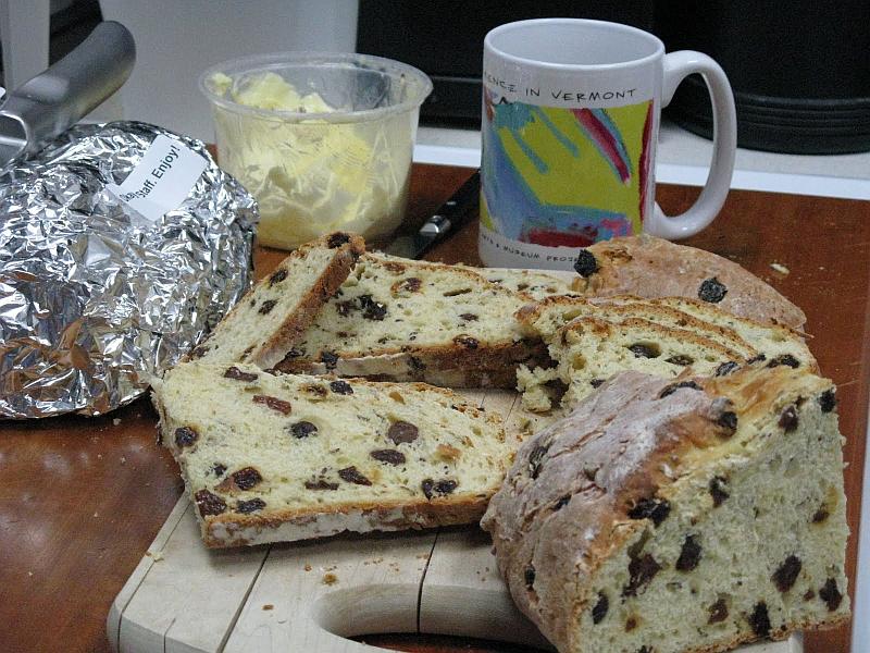 Jean Murphy's Irish Soda Bread   Vermont Public Radio