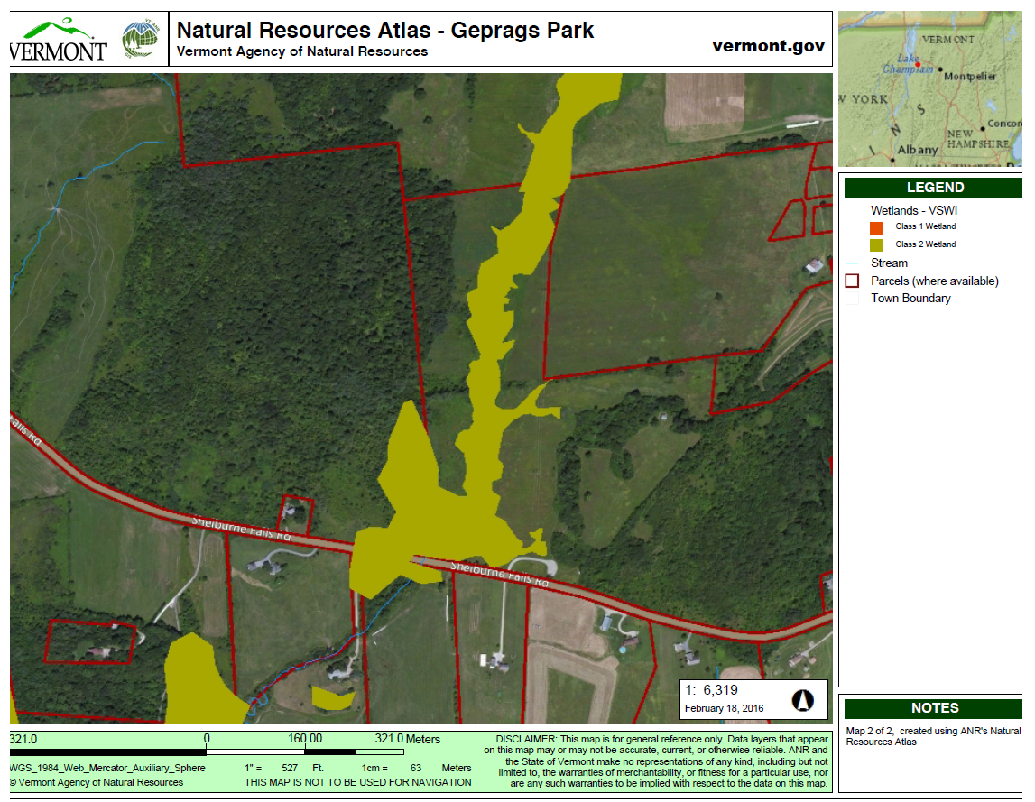 Hinesburg Residents Prepare To Fight Vermont Gas Over Wetland - Georgia vt map