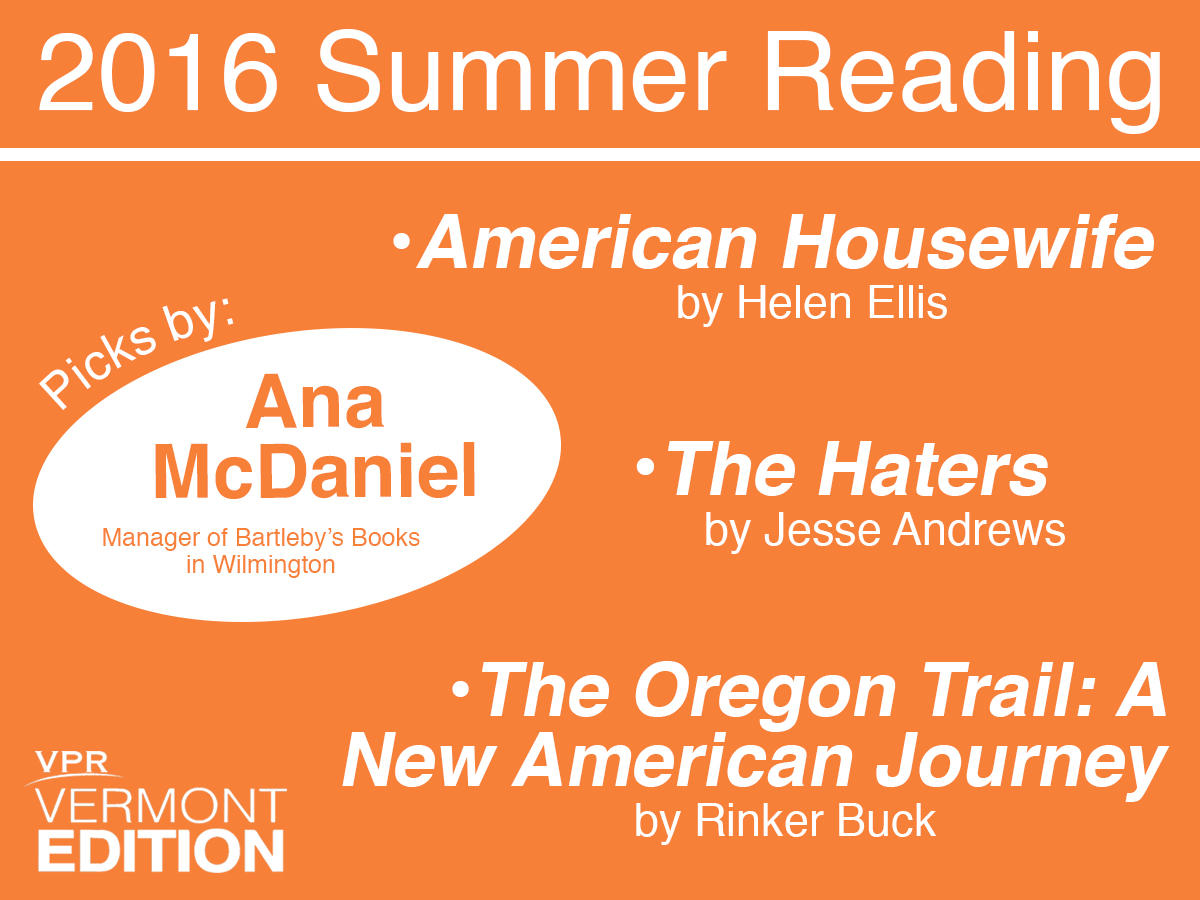 Ana Mcdaniel, Manager Of Bartleby's Books In Wilmington, Offered Summer  Reading Suggestions On