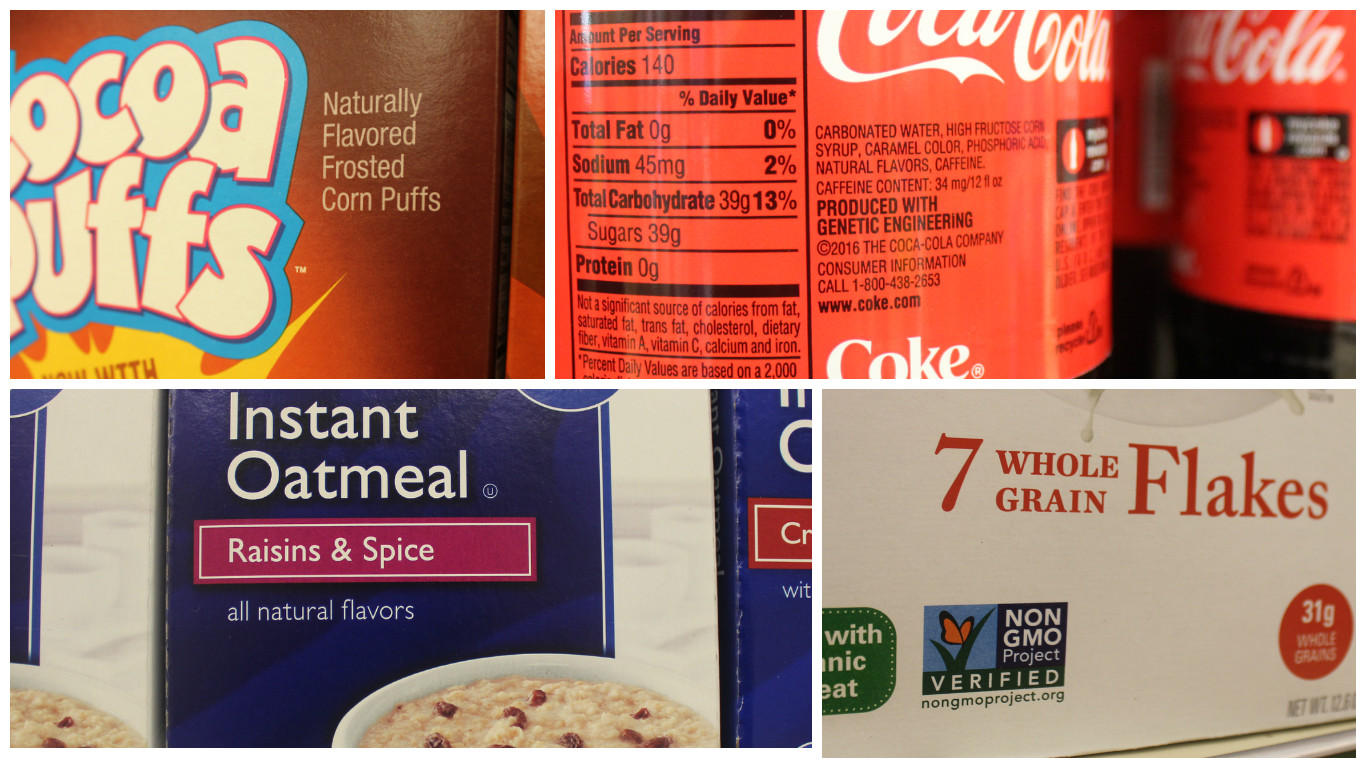gmo, ge, bioengineeredwhat do all these food labels mean