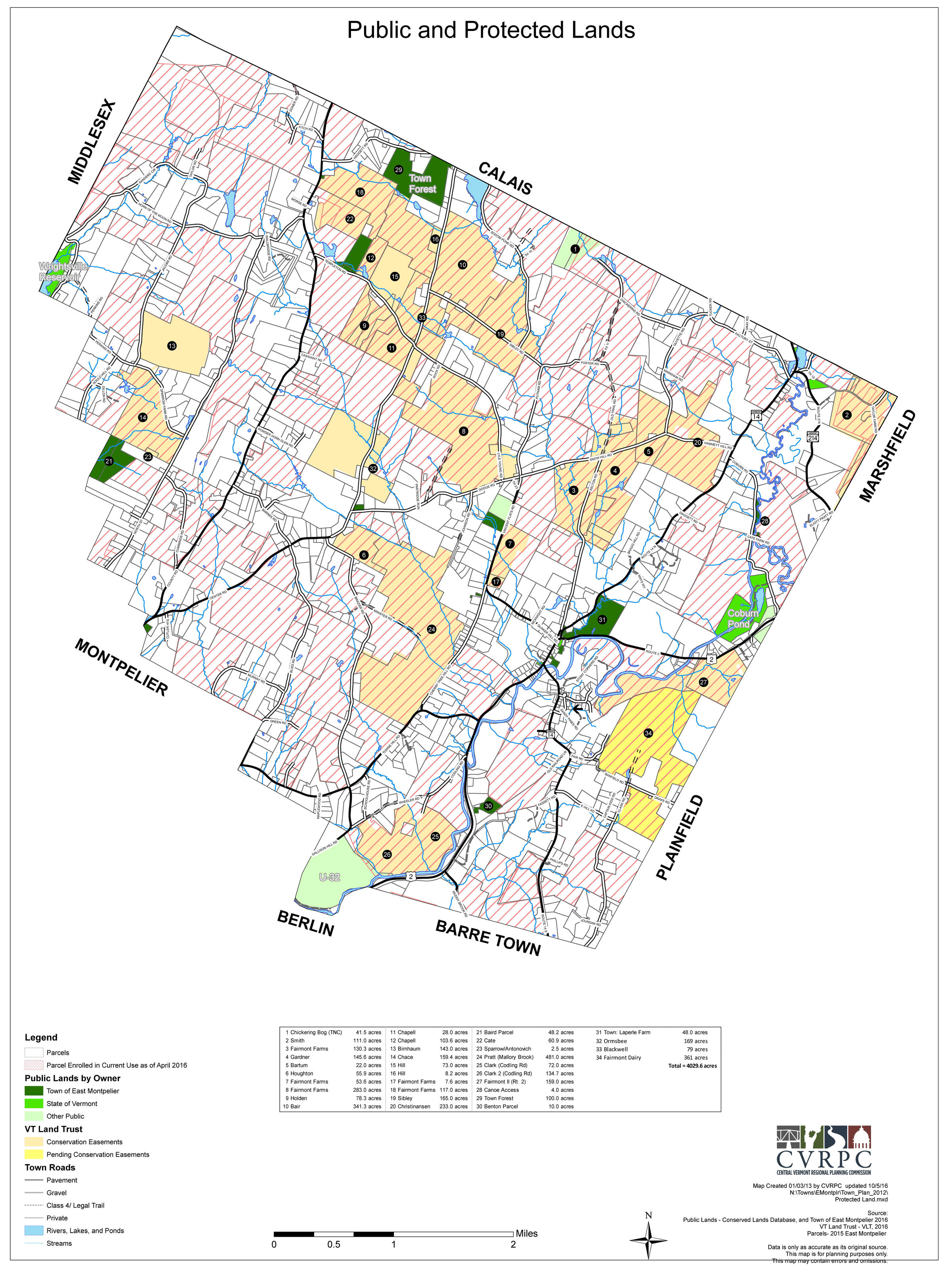 East Montpelier Considers Shifting Focus From Land Conservation To