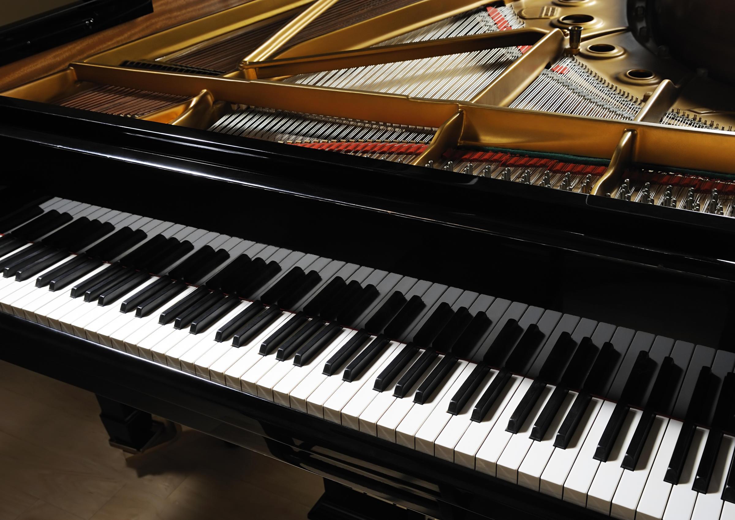 How do piano keys make sound vermont public radio for Moderni piani a 4 piani