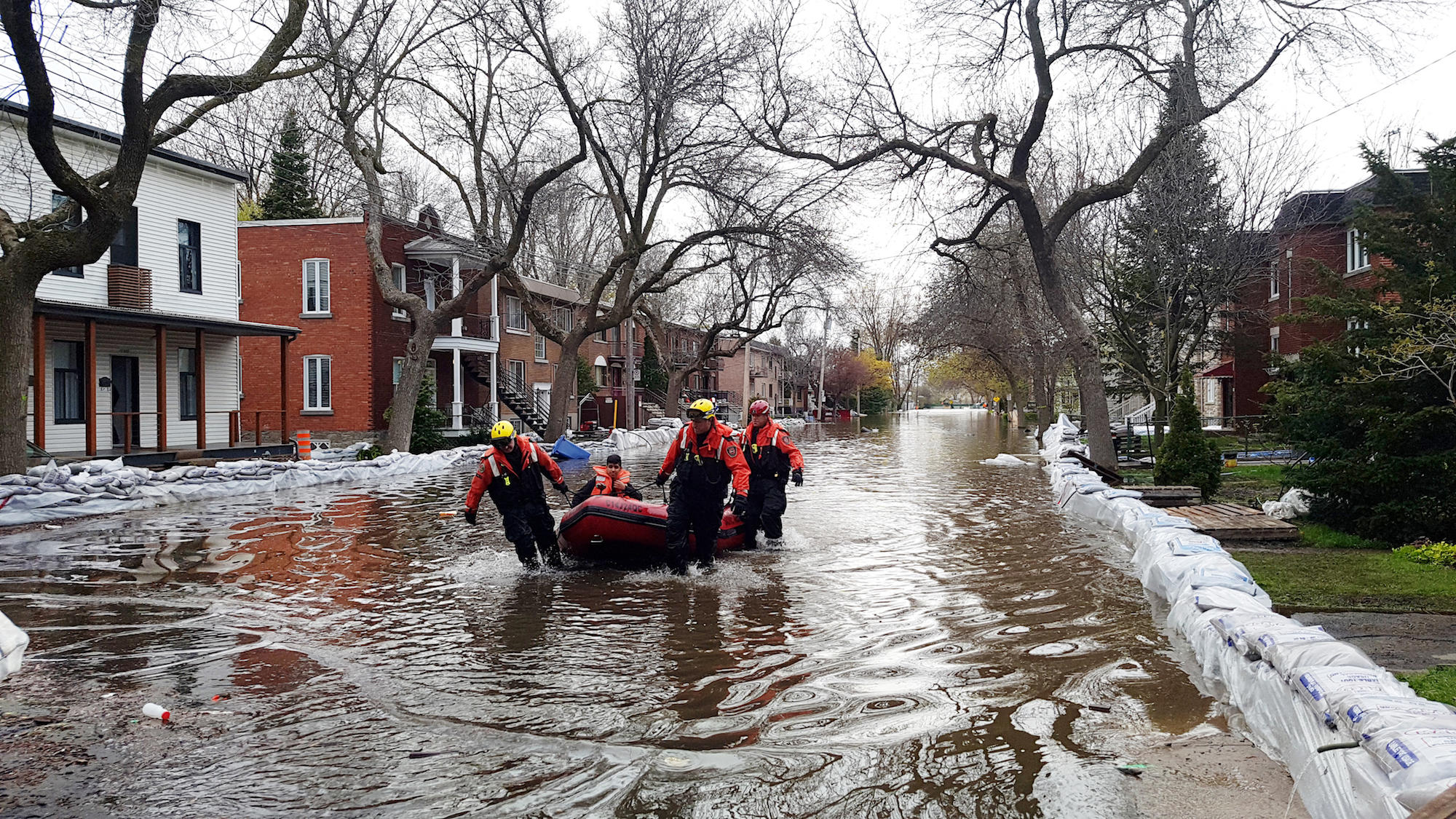 Severe Flooding Has Displaced Thousands In Quebec, And ...
